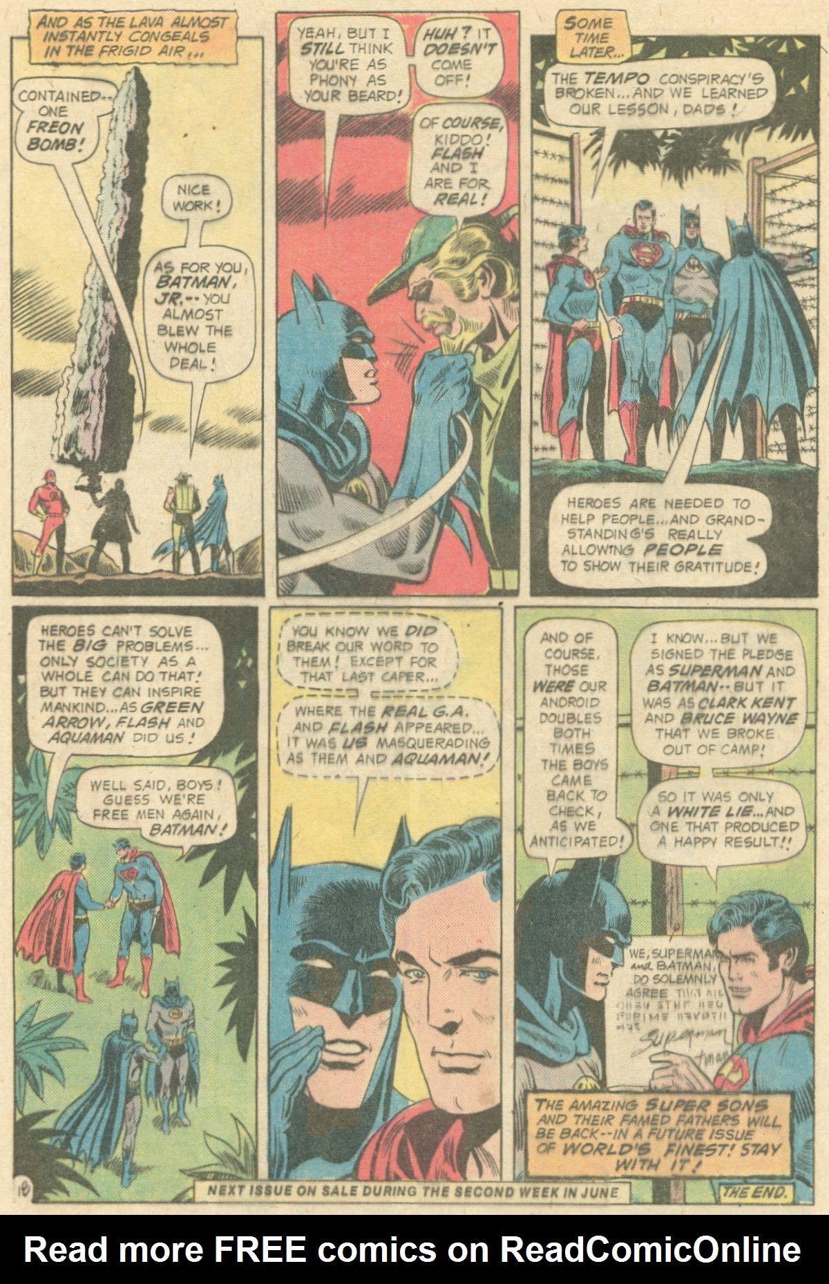 Read online World's Finest Comics comic -  Issue #231 - 32