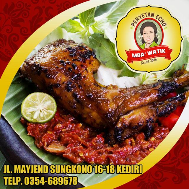 Ayam Penyet Mba' Watik