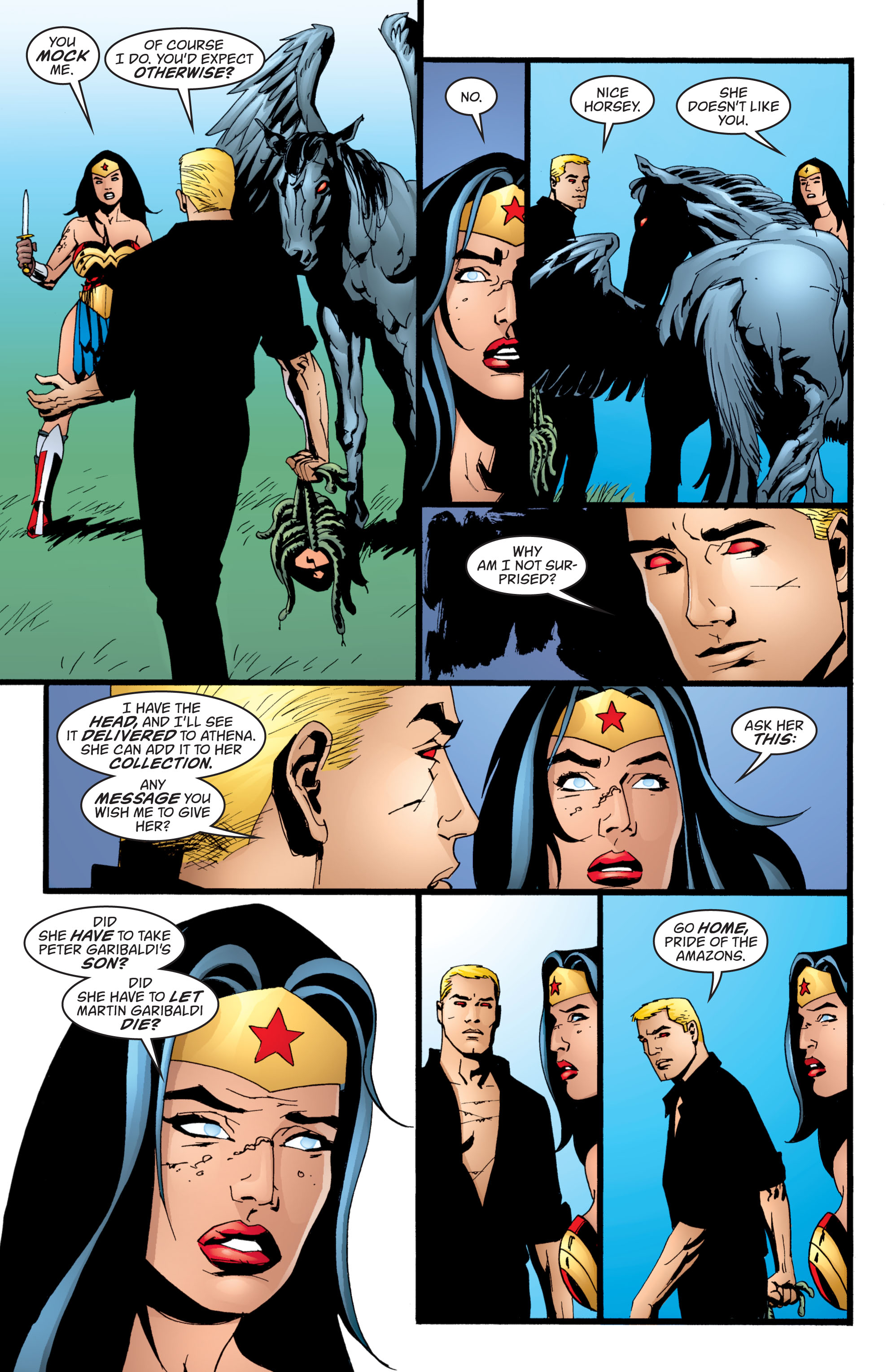 Read online Wonder Woman (1987) comic -  Issue #211 - 8