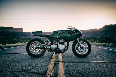 "Triumph Thruxton 1000 ""Three Martini Lunch"" Custom by ICON1000"