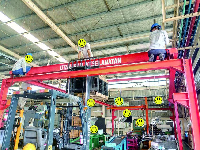 Overhead Crane 1 Ton Download Free 3d Models
