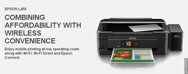 Download Lengkap Driver Printer Epson L455
