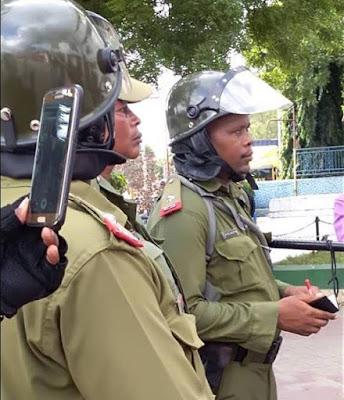 Jeshi la Polisi Lazuia Mkutano wa ACT-Wazalendo