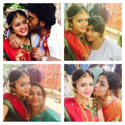 Actor-Chandran-VJ-Anjana-Wedding