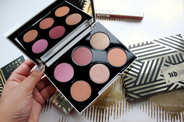 Urban Decay x Gwen Stefani Cheek and Blush Palette Review