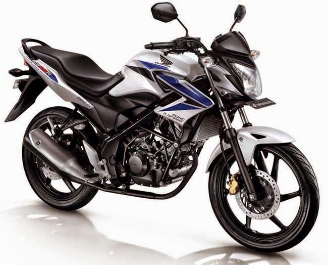 Honda CB150R Lightning White