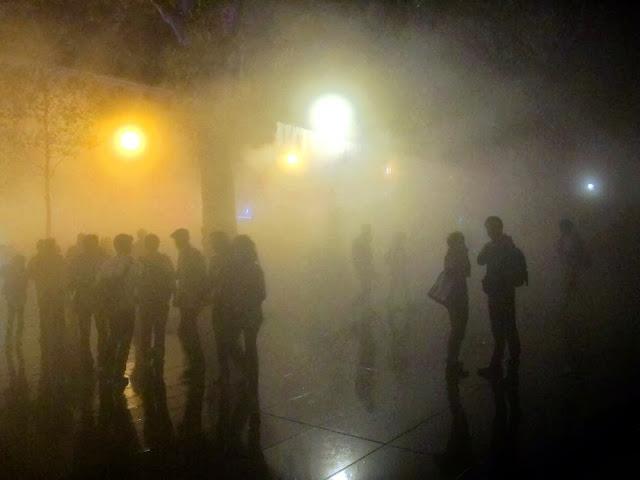Place de la République, Nuit Blanche 2013