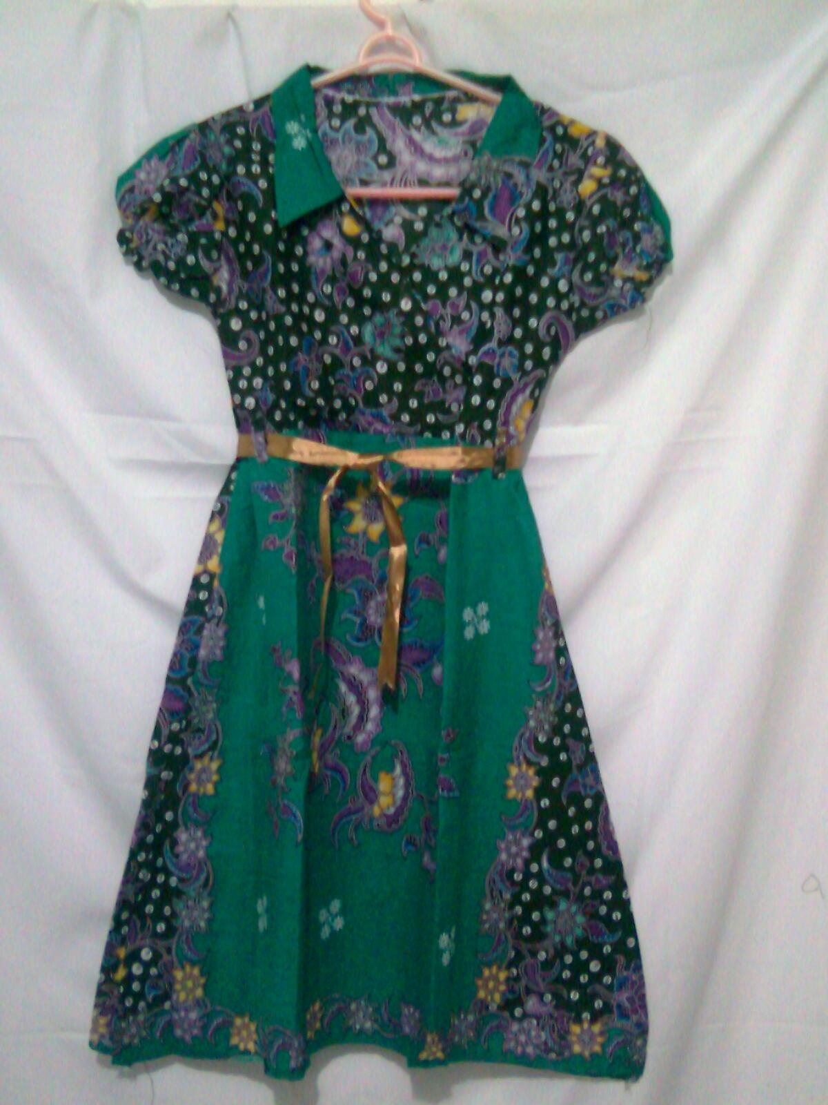 Model Baju Batik Anak Perempuan Umur 8 Tahun - Batik Loka Jaya