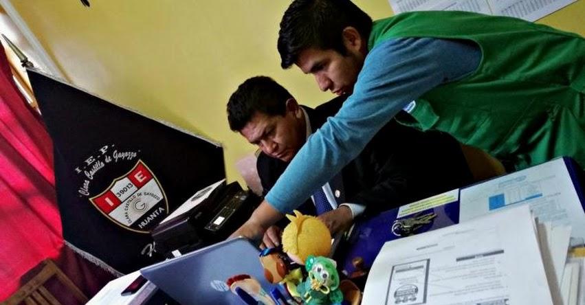 Inscriben a Instituciones Educativas de Ayacucho para participar en el «V Concurso Escolar de Buenas Prácticas para el Ahorro del Agua Potable»