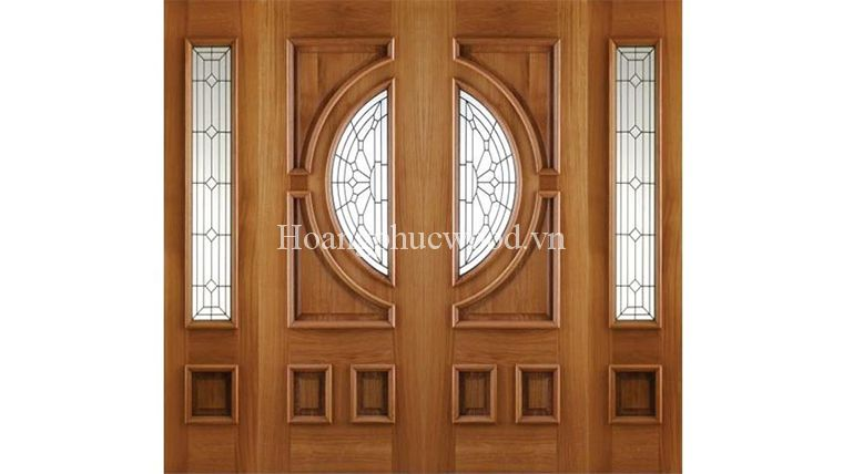 Thiết kế cửa gỗ tự nhiên