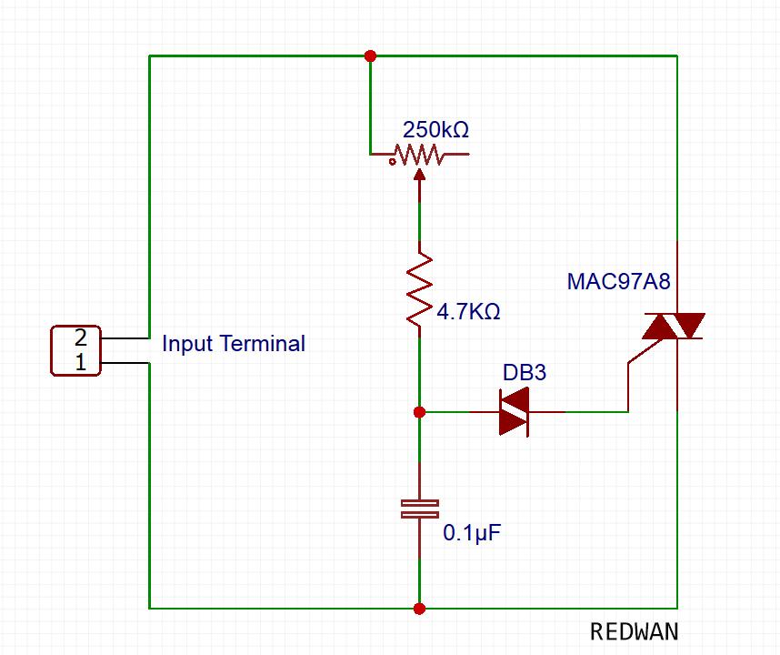 ceiling fan regulator or incandescent lamp dimmer circuitceiling fan regulator or incandescent lamp dimmer circuit