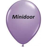 Minidoor winkeltje 1 jaar!