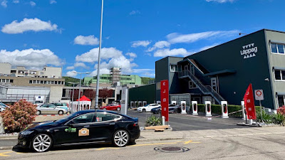 Dietikon now home to the largest Tesla Supercharger station in Switzerland