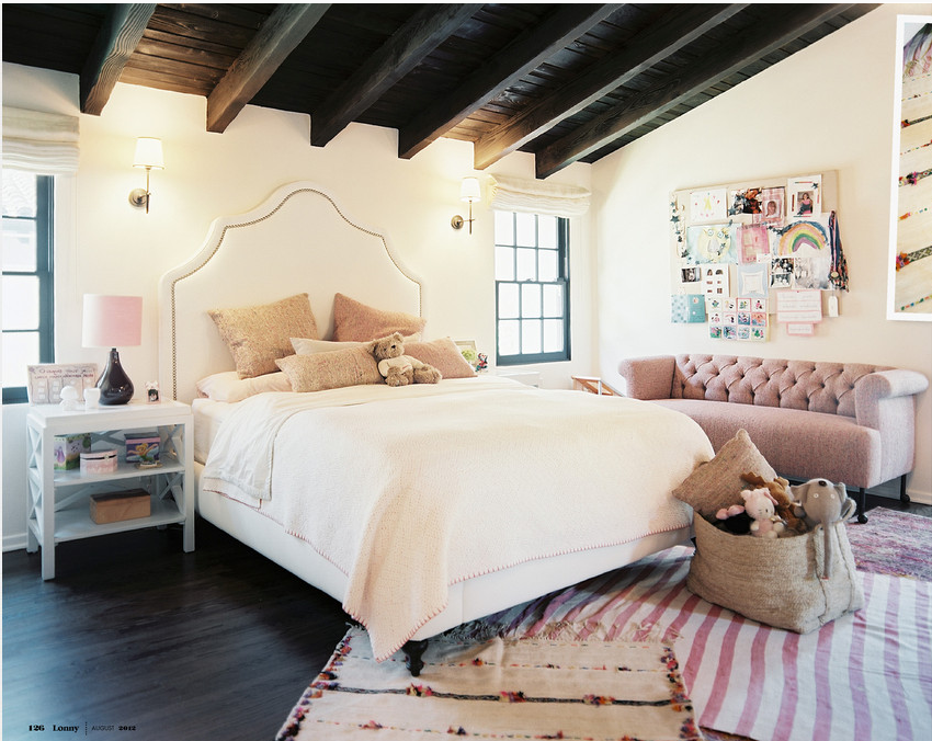 Eclectic Boho Glam Bedroom