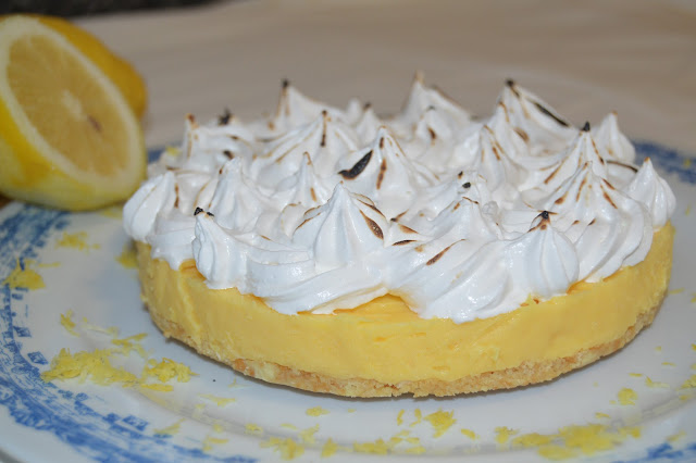 LEMON PIE (TARTA DE LIMON, FACIL)