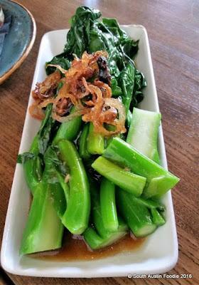 Wu Chow gai lan broccoli