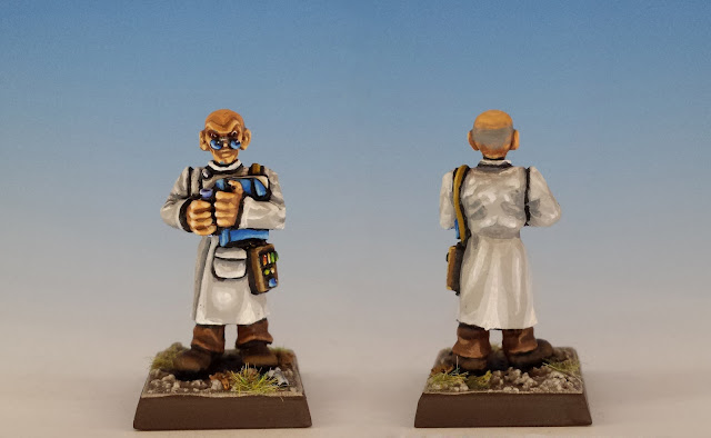 Talisman Timescape Scientist, Citadel (sculpted by Trish Morrison, 1988)