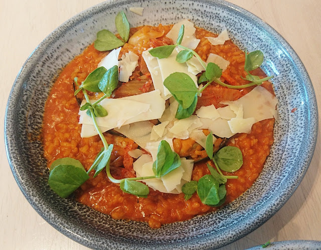 Workshop Brothers, Glen Waverley, kimchi risotto