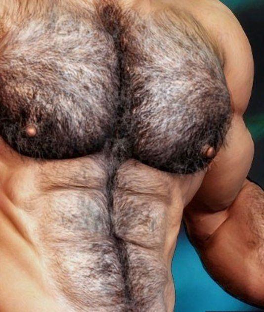 Волосатая грудь мужика фото, порно клипы с пышками
