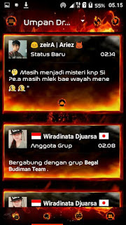 BBM Droid Chat v11.0.18 Legend of Fire Base 3.0.0.18 Apk Terbaru Gratis