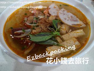 背包豬荔枝角道吃越南菜-蟹糕鮮茄湯檬