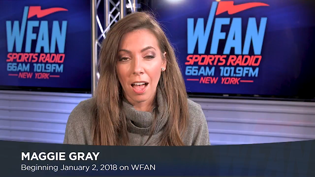 maggie gray wfan afternoon drive
