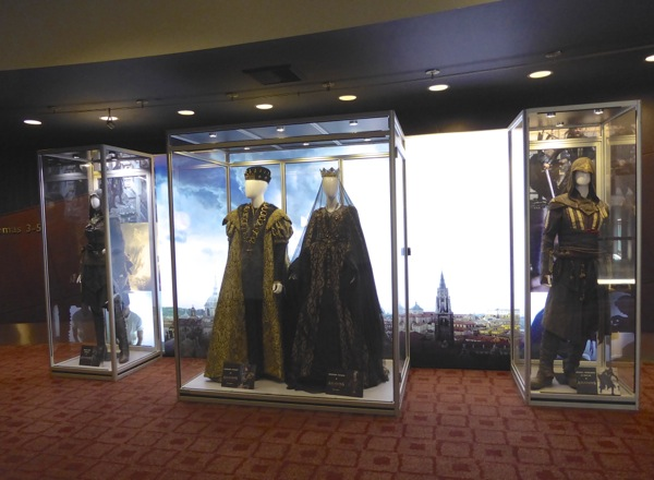 Assassins Creed movie costume exhibit
