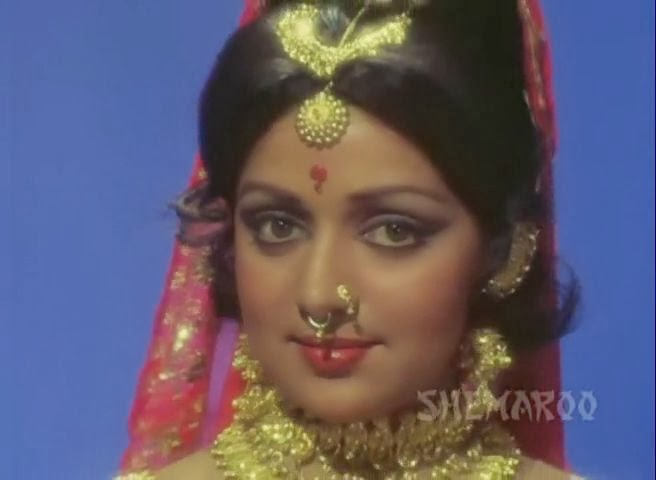 Screen Shot Of Hindi Movie Dream Girl (1977) Download And Watch Online Free at worldfree4u.com