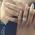 Maureen Chukwujekwu who got married yesterday flaunts her ring on IG