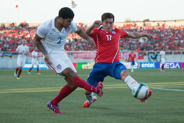 Chile y Estados Unidos en partido amistoso, 28 de enero de 2015