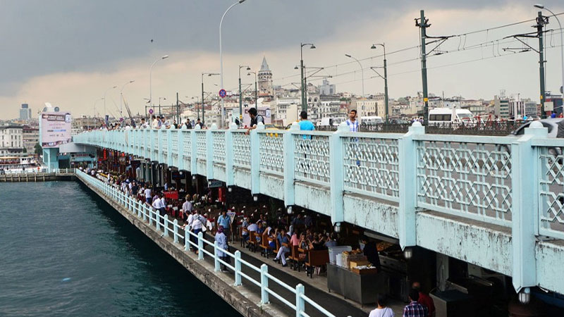 Places of Interest Turkey Galata Bridge