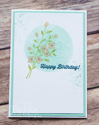 Touches of Texture Pink Blossom Birthday Card made using supplies from Stampin' Up! UK.  Buy Stampin' Up! here in the UK