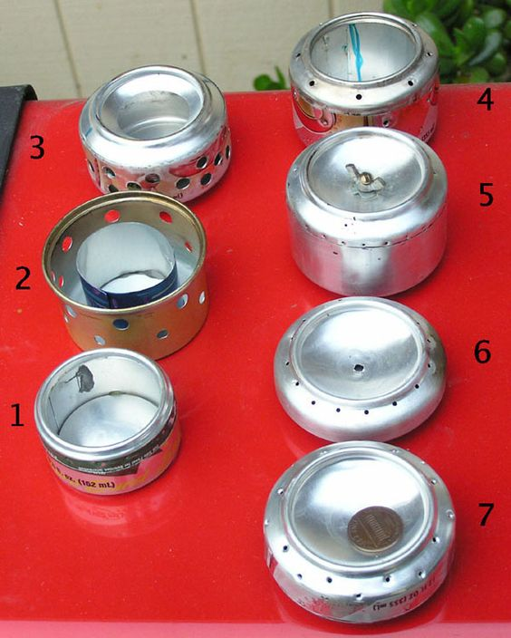 A step by step guide to building a coke can stove for for Coke can heater