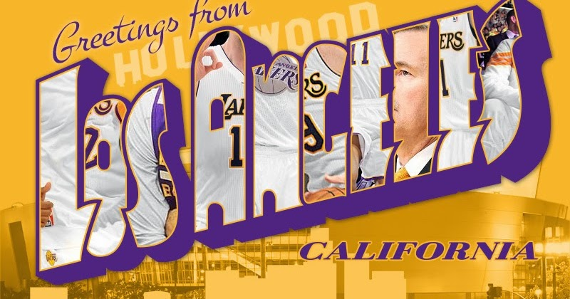 30 Home Games: NBA Postcards: Greetings from Los Angeles, California. Lakers and Clippers edition