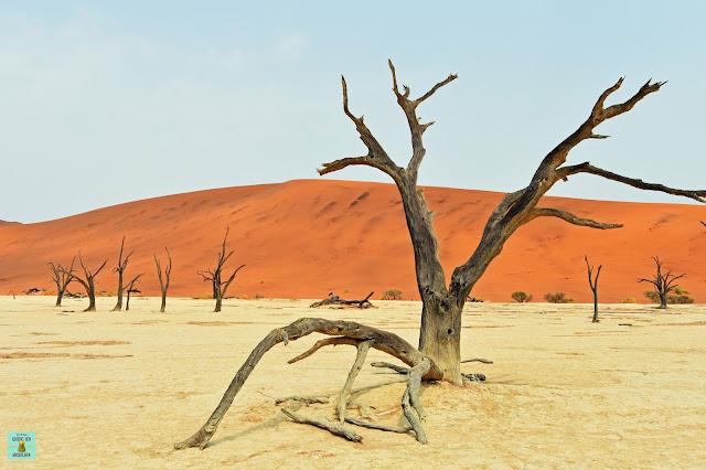 Deadvlei, desierto del Namib (Namibia)