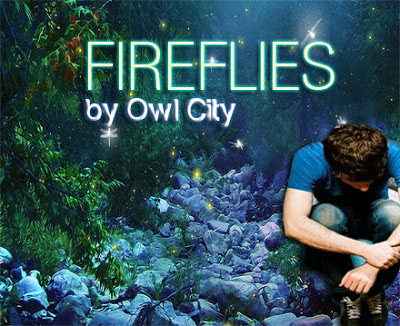 Fall Wallpaper With Verse Fireflies Owl City Music Letter Notation With Lyrics