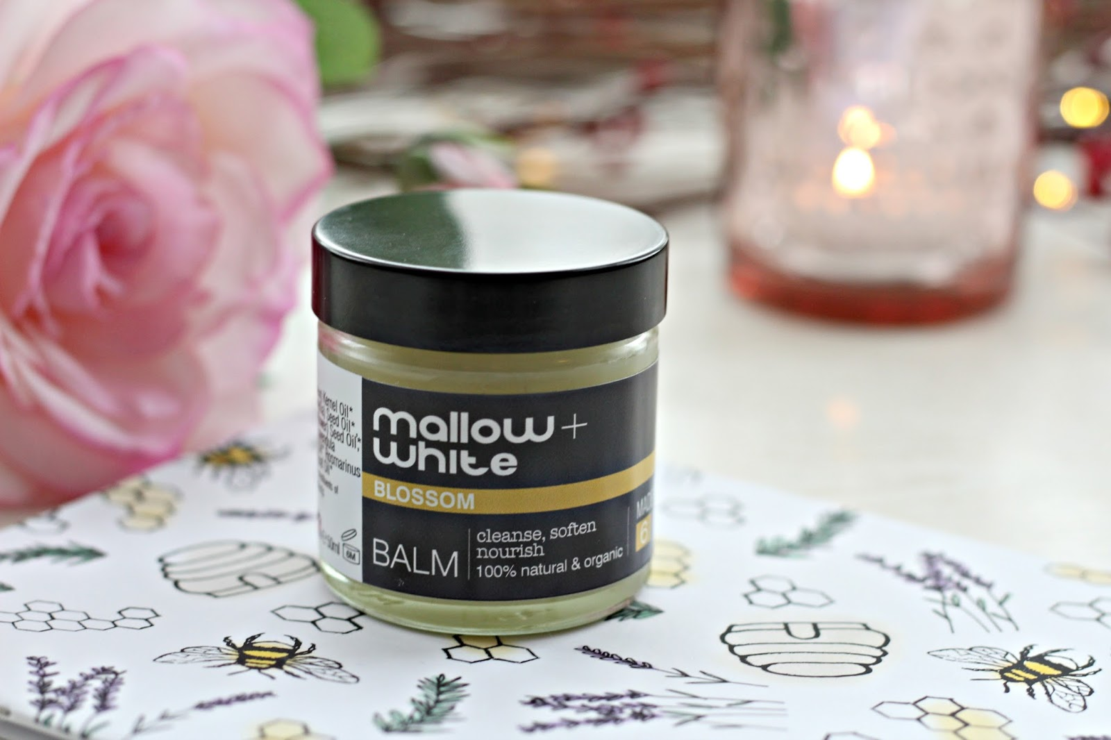 Mallow and White Blossom Balm review
