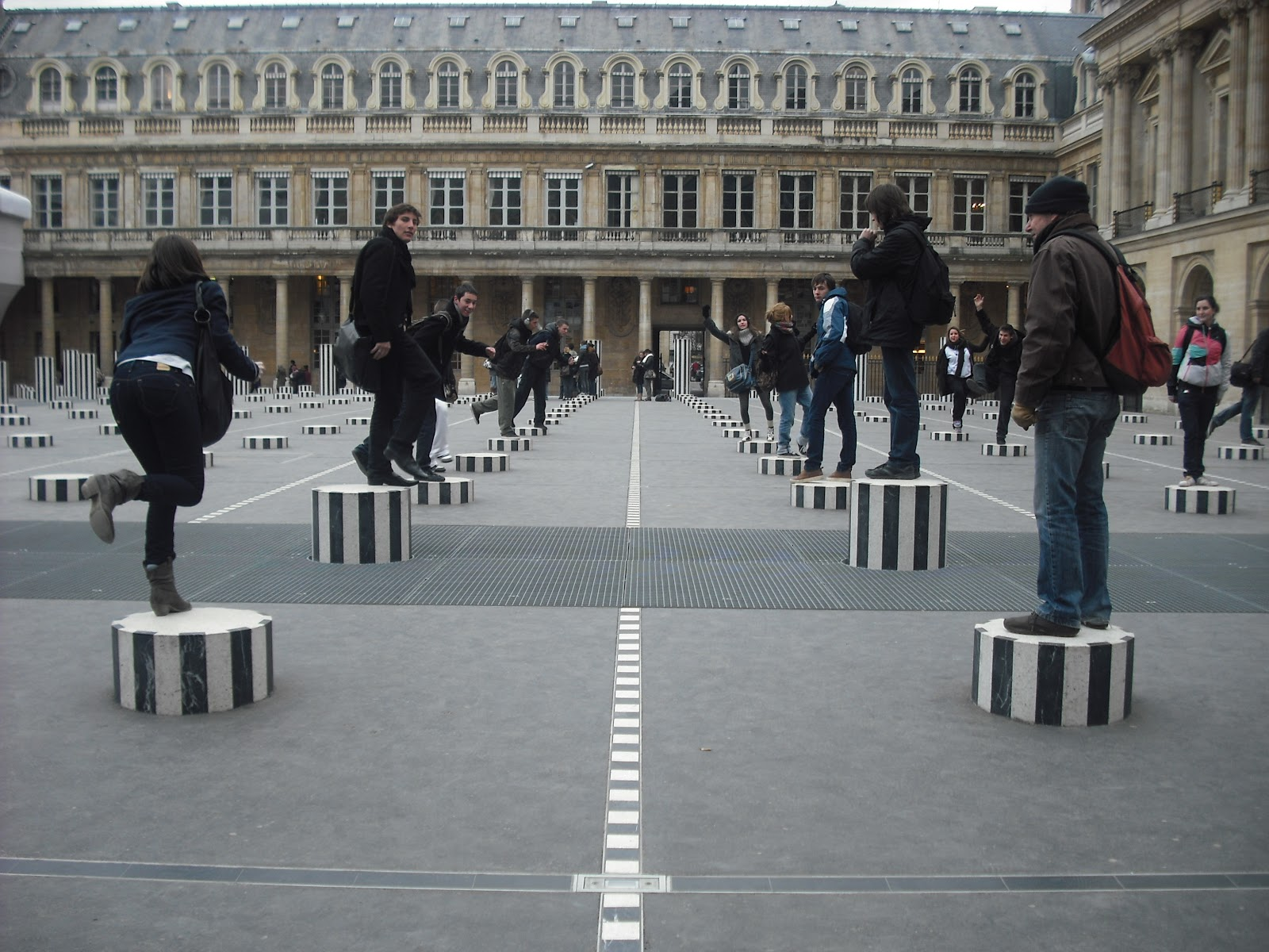 Place du Palais-Royal - Walking Tour Around Paris