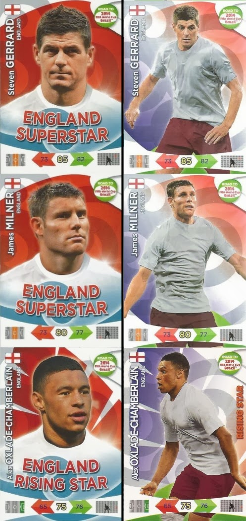 Panini Adrenalyn Road World Cup Brazil 66-tom cleverley-base Card