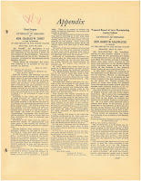 Extension of Remarks by Senator Tobey, April 18, 1953