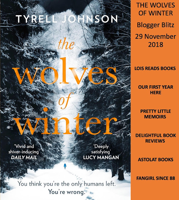 Tour, Book Review & Guest Post: The Wolves of Winter by Tyrell Johnson
