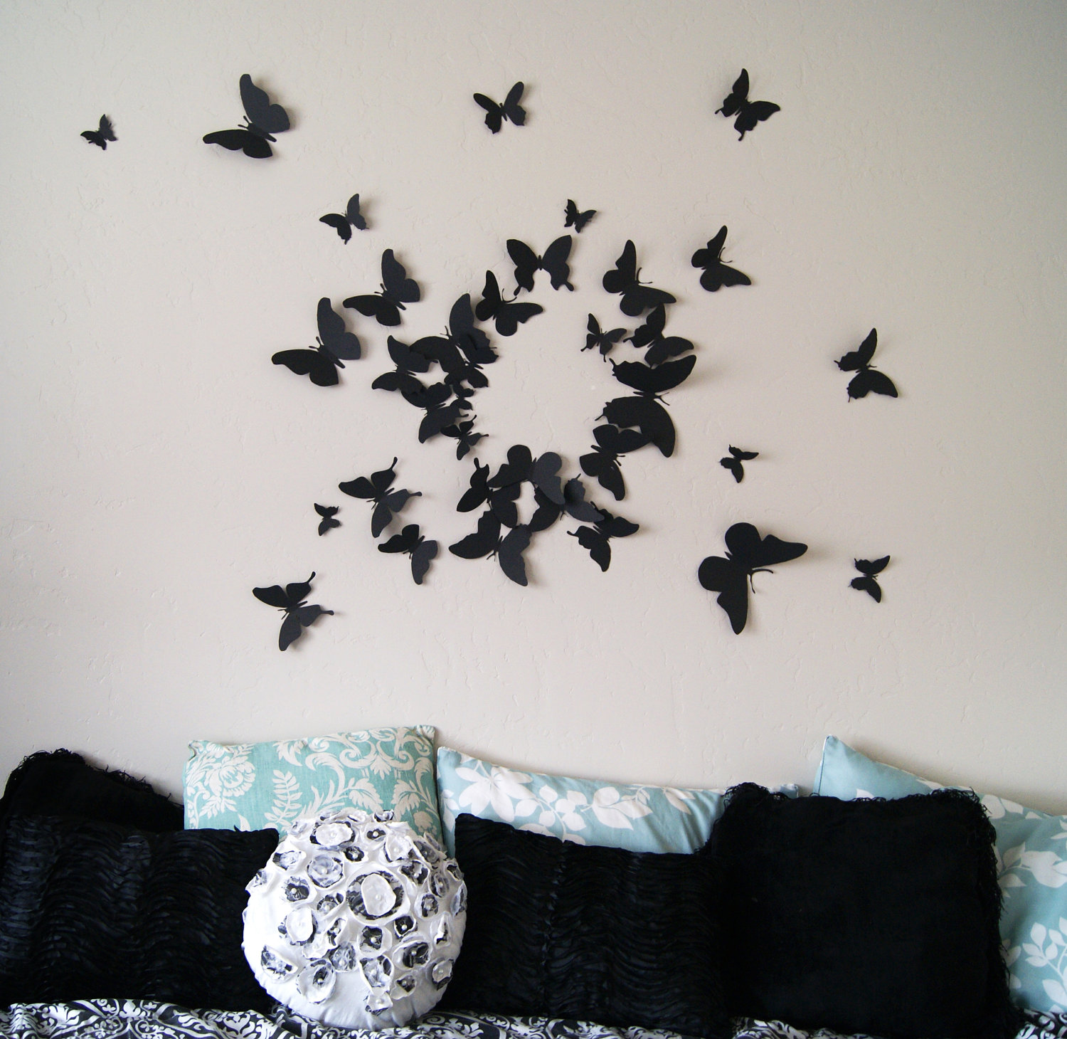 3d Muurdecoratie 3d Scanner Image 3d Butterfly Wall Art