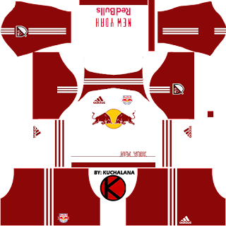 cacfe6f9e New York Red Bulls Kits 2016 - Dream League Soccer Kits and FTS15 ...