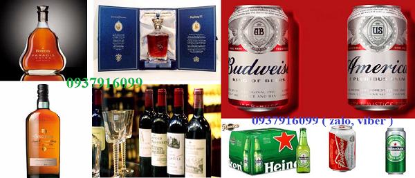 chuyên cung cấp sỉ & lẻ các loại rượu Tây - rượu Vang , Bia Ngoại Nhập