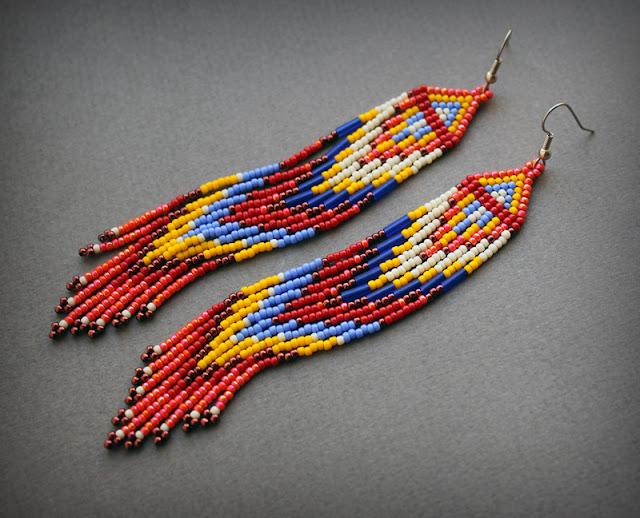серьги необычные интернет магазин купить длинные сережки в стиле бохо