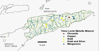 Recursos Minerais de Timor-Leste