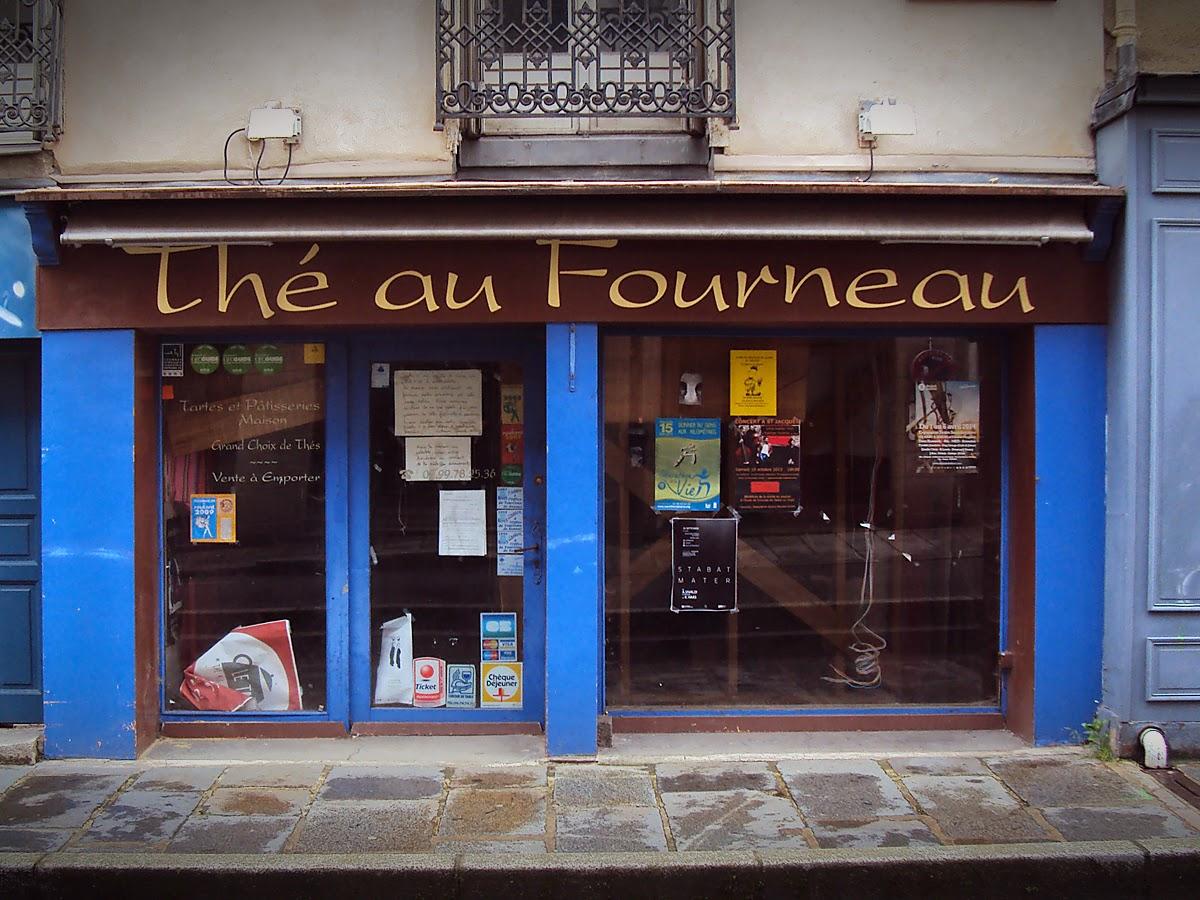 Thé au Fourneau - 6, rue  Capitaine Dreyfus, 35000 Rennes