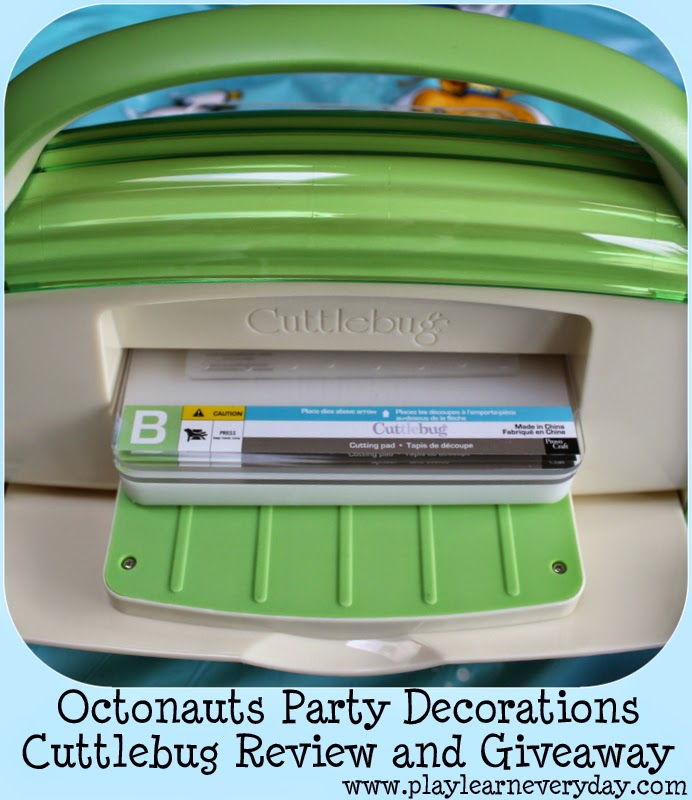 Octonauts Party Decorations - Cuttlebug Review and Giveaway