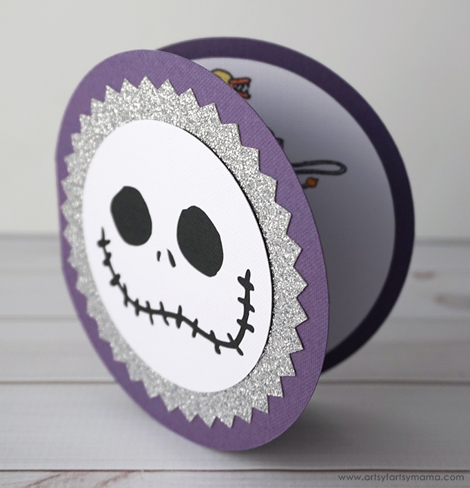 Nightmare Before Christmas Party Invitation