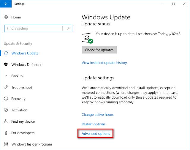 كيفية منع تحميل التحديثات إلى أجهزة الكمبيوتر الأخرى على ويندوز 10
